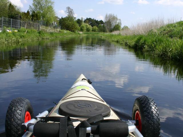 Gródek, początek spływu kajakowego | Rzeka Supraśl - Puszcza Knyszyńska