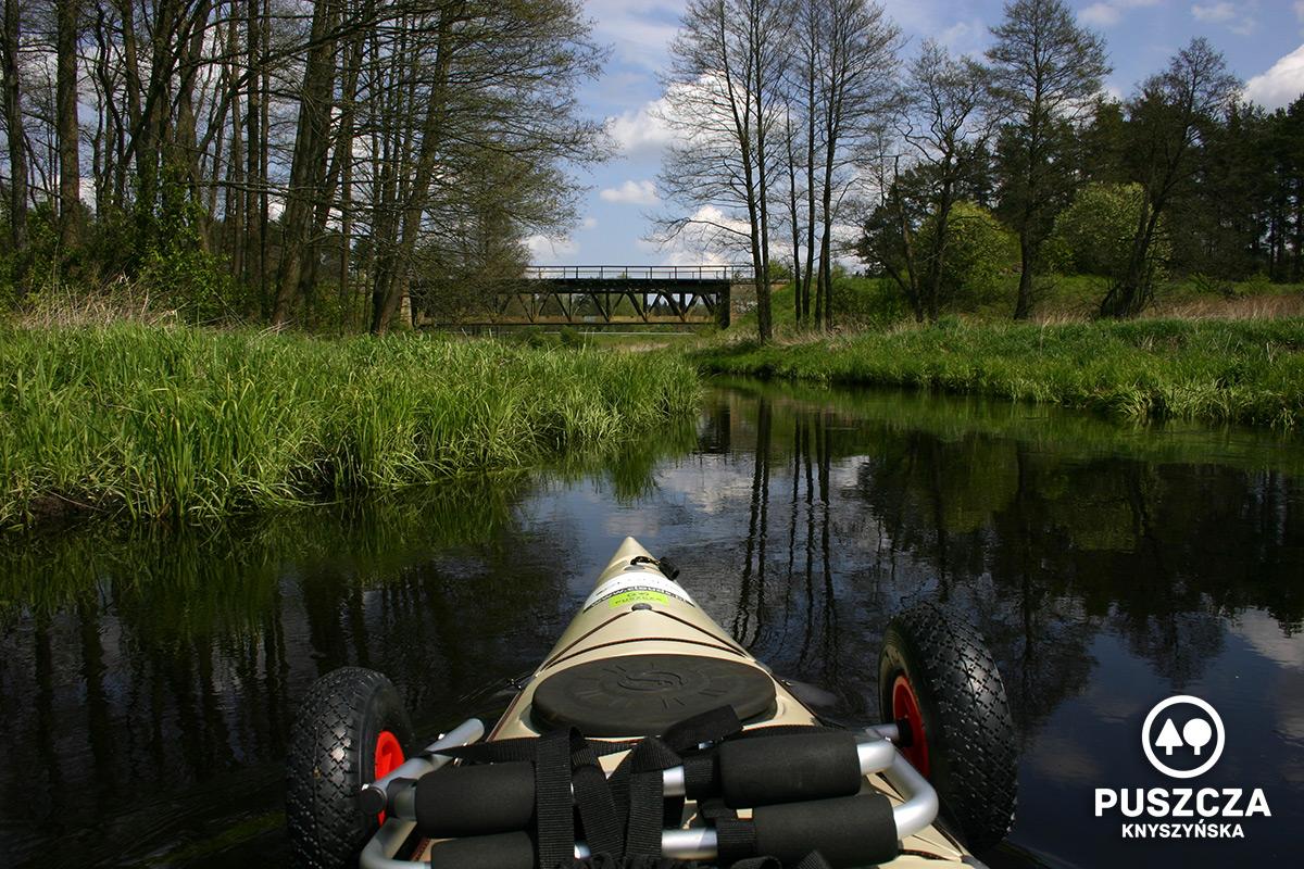 Most kolejowy w okolicy Gródka | Rzeka Supraśl - Puszcza Knyszyńska